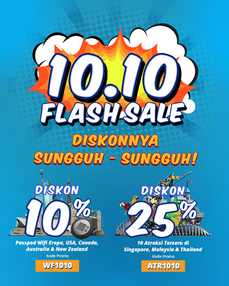 Flash Sale 10.10
