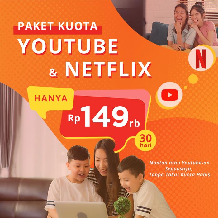 paket netflix youtube